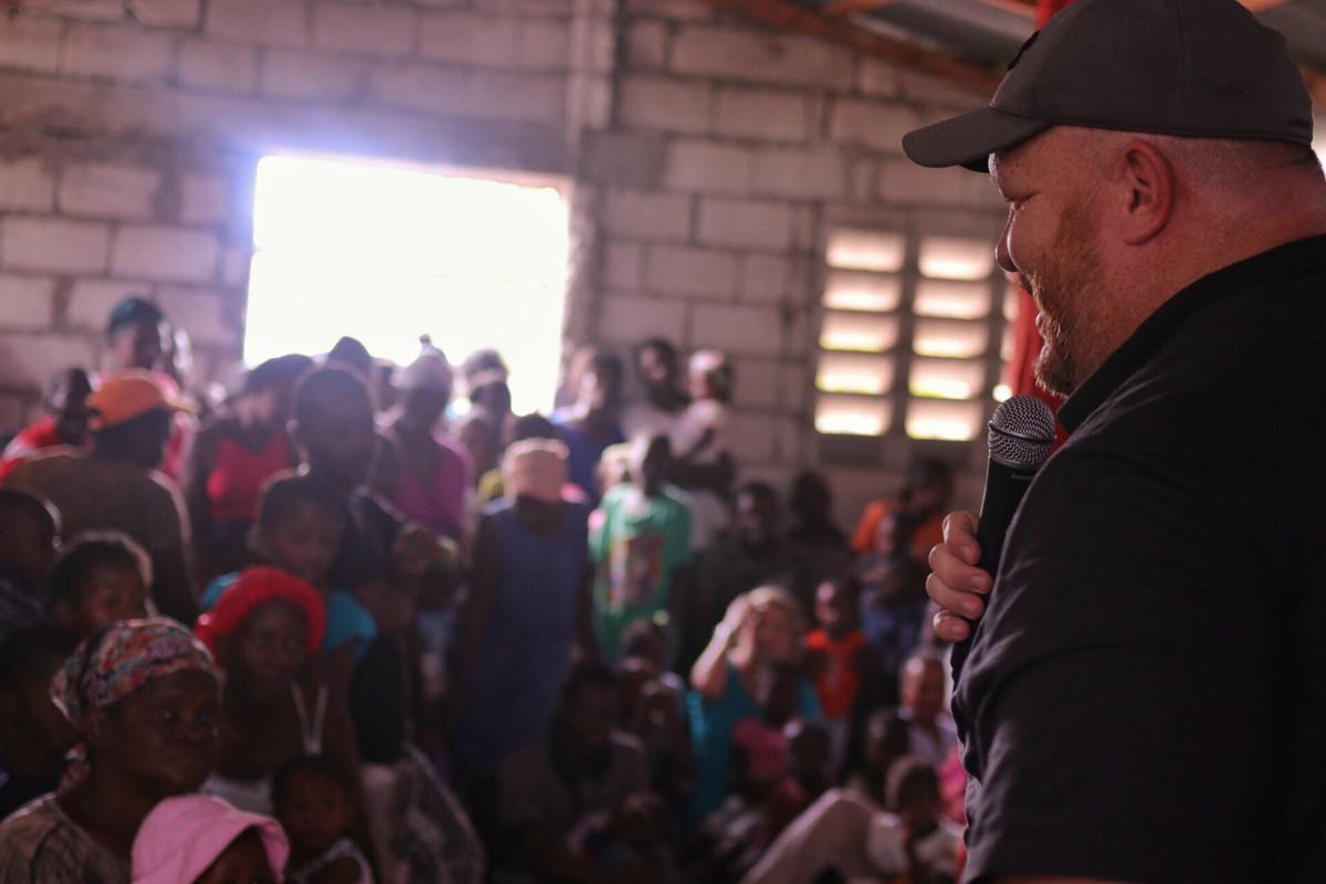 Pastor John Scott